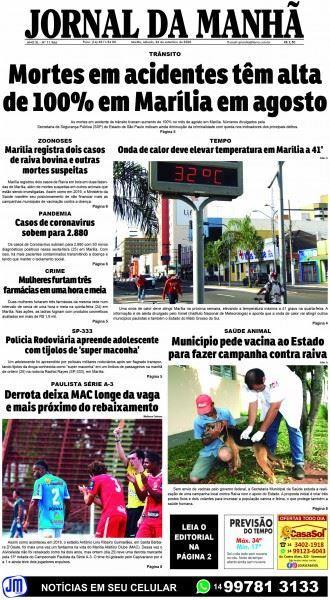 """Hoje """"Dia do Trânsito"""": Marília não tem o que comemorar com sua perigosa rede viária"""